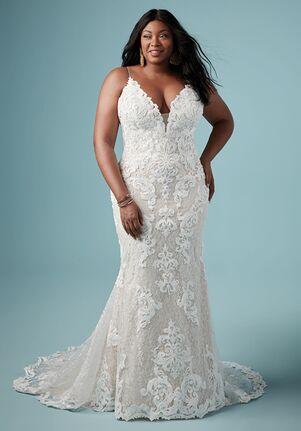 Maggie Sottero TUSCANY MARIE Sheath Wedding Dress