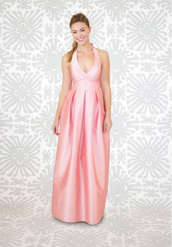 LulaKate Carter Long Bridesmaid Dress photo