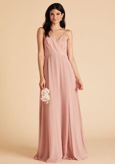 Birdy Grey Kaia Dress in Rose Quartz V-Neck Bridesmaid Dress