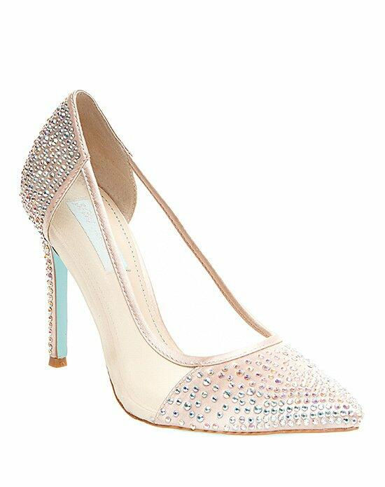 Blue by Betsey Johnson SB-ELISE - CHAMPAGNE Wedding Shoes photo