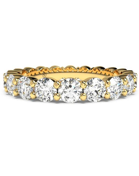 Ritani Women's Slim Round-Cut Diamond Prong-Set Eternity Band - in 18kt Yellow Gold - (1.90 CTW) Wedding Ring photo