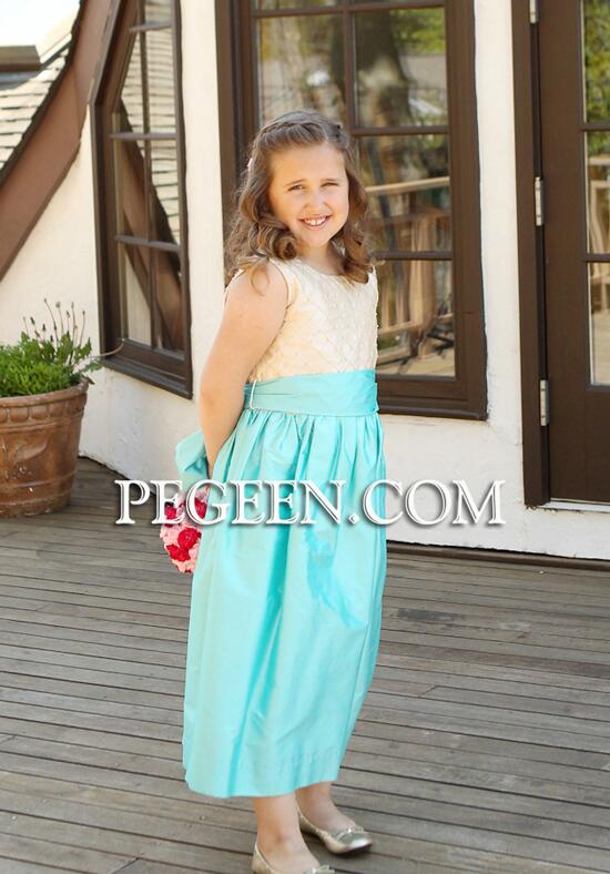 Pegeen.com  409 Flower Girl Dress photo