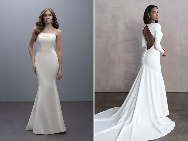 Madison James style: MJ705; Allure Bridals style: 9801