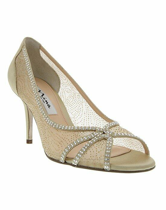 Nina Bridal FRESH_GOLD_MAIN Wedding Shoes photo