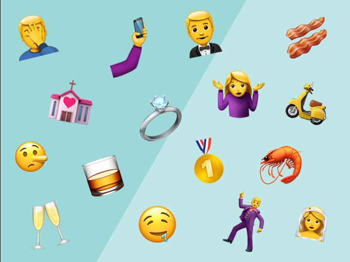 9 New Emojis That Perfectly Describe Wedding Planning