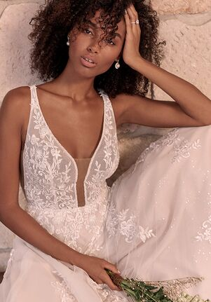 Maggie Sottero LETICIA A-Line Wedding Dress