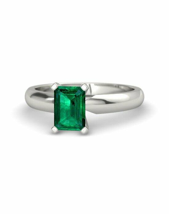 Gemvara - Customized Engagement Rings Emerald-Cut Ara Ring Engagement Ring photo