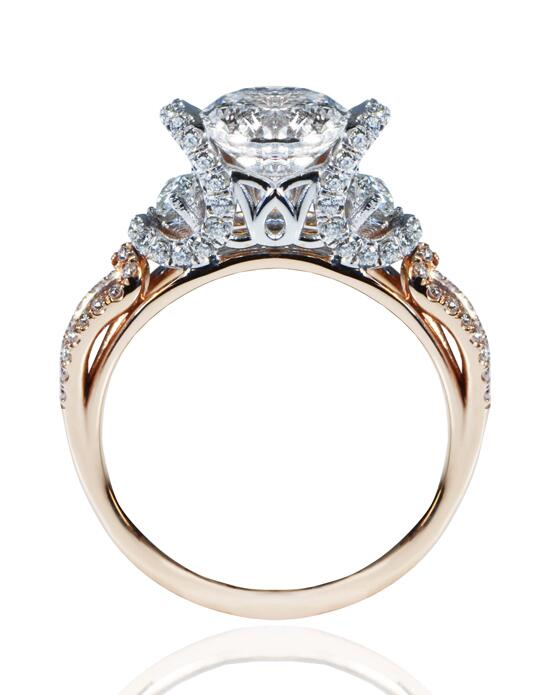 Daviani Love Links Collection DCR1176 Engagement Ring photo