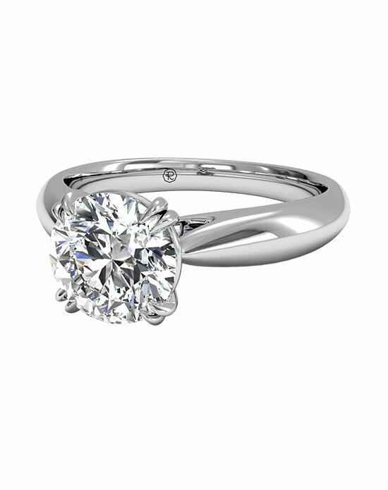 Ritani Solitaire Diamond Tulip Cathedral Engagement Ring in Platinum Engagement Ring photo