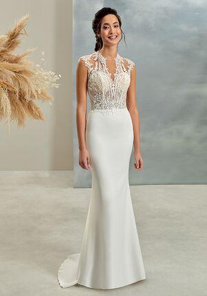 Demetrios L1031 Sheath Wedding Dress