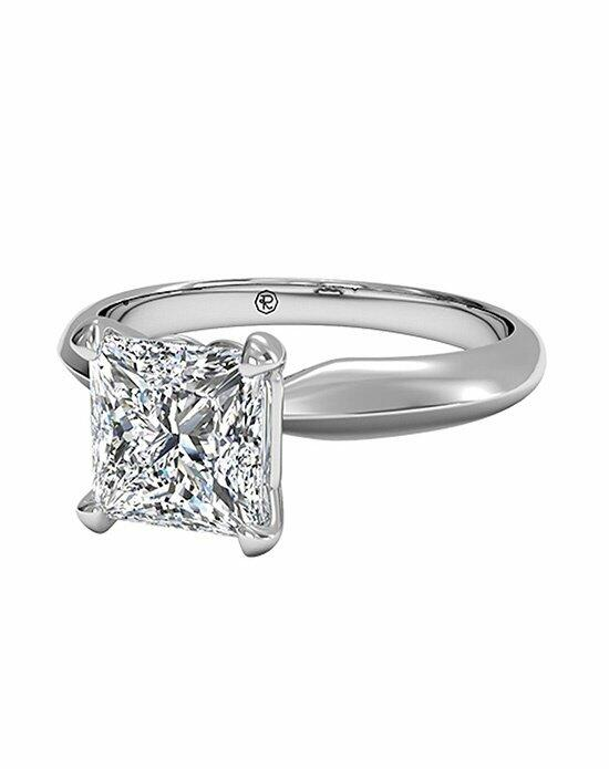 Ritani Princess Cut Solitaire Diamond Knife-Edge Engagement Ring in Platinum Engagement Ring photo