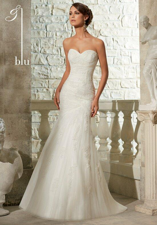 Blu by Madeline Gardner 5309 Wedding Dress photo
