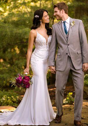 Essense of Australia D2981 Sheath Wedding Dress
