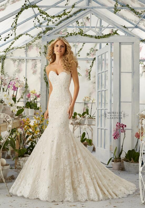 Mori Lee by Madeline Gardner 2820 Wedding Dress photo