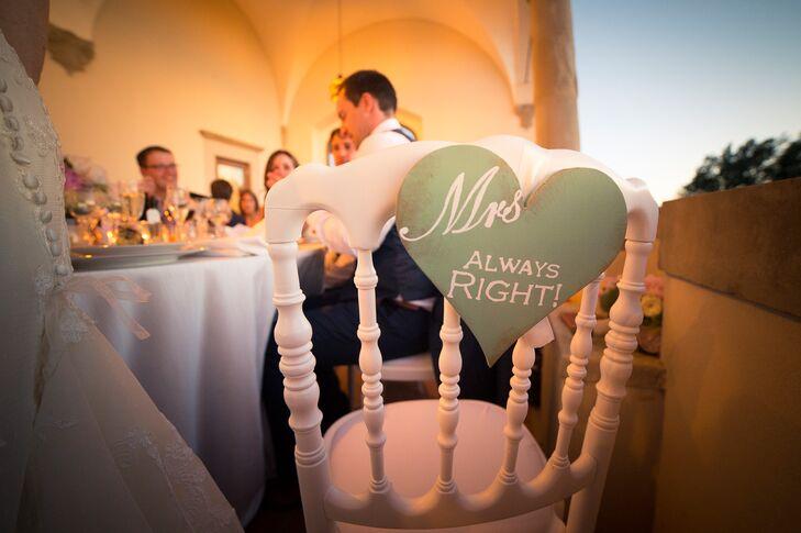 Sweetheart Table Wedding Sign