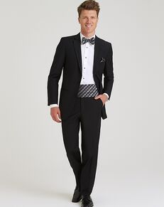 Allure Men Ultra Black Black Tuxedo