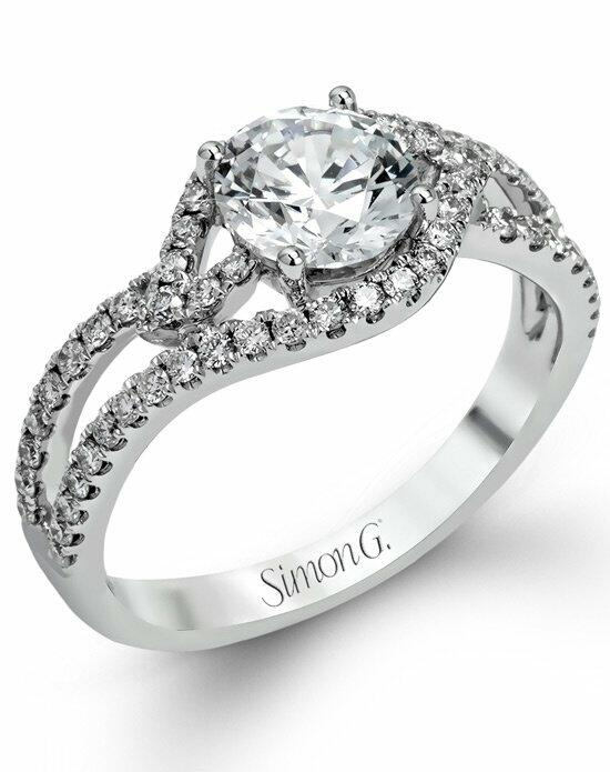Simon G. Jewelry TR554 Engagement Ring photo