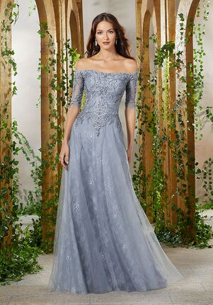 MGNY 71901 Gray,Pink,Silver,Purple Mother Of The Bride Dress