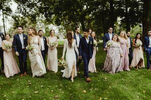Wedding Party at Zingerman's Cornman Farms in Dexter, Michigan
