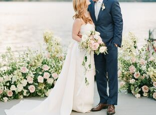 Dallas-based couple Arden Elliott (27 and a managing director of a PR firm) and Brock Hensarling (27, a director of research and land manager at an en