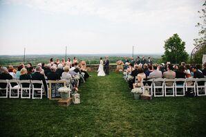 Ceremony With Vineyard Views