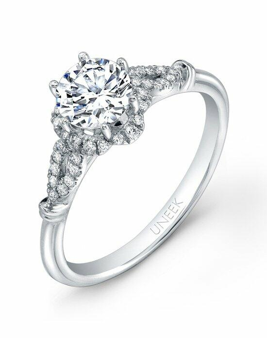 Uneek Fine Jewelry USM021RD-6.5RD Engagement Ring photo