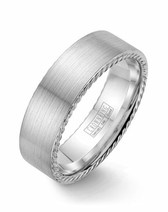 CrownRing WB-009R7W-M10 Wedding Ring photo