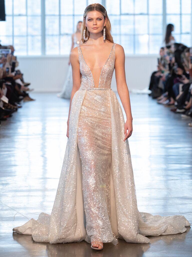Berta Spring 2020 Bridal Collection glamorous wedding dress
