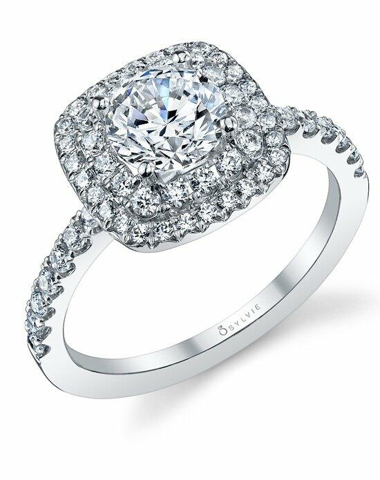 Sylvie Collection S1097 Engagement Ring photo