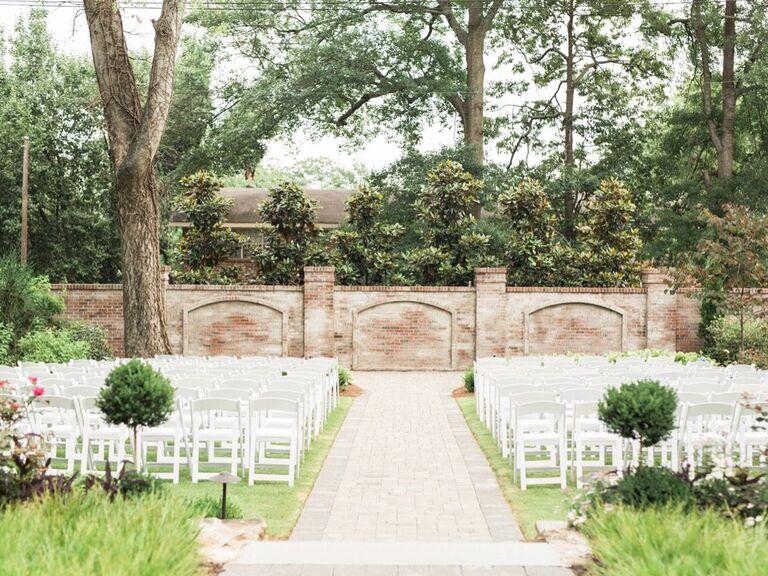 Wedding venue in Athens, Georgia.