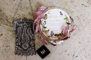 DIY Headband With Fabric Rose Petals