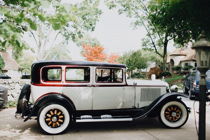 Elegant Vintage Classic Getaway Car