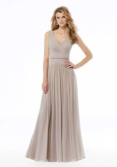 MGNY 72131 Blue,Gray Mother Of The Bride Dress