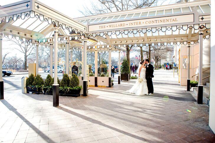Elegant Winter Wedding at Willard Intercontinental Hotel