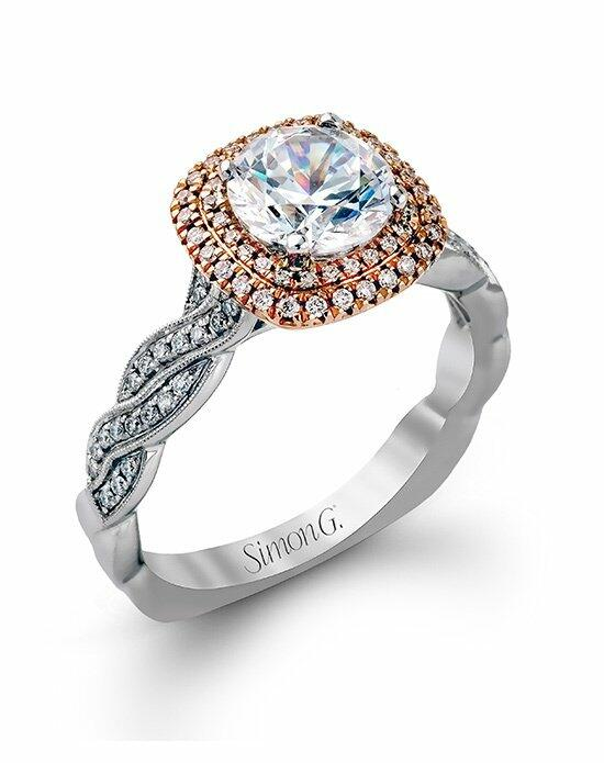 Simon G. Jewelry MR2133-D Engagement Ring photo