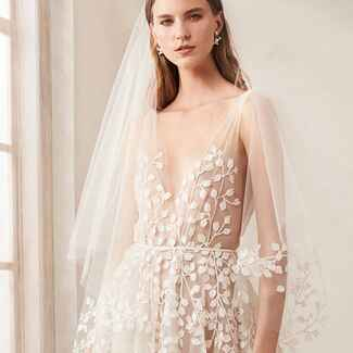 oscar de la renta wedding dress fall 2020