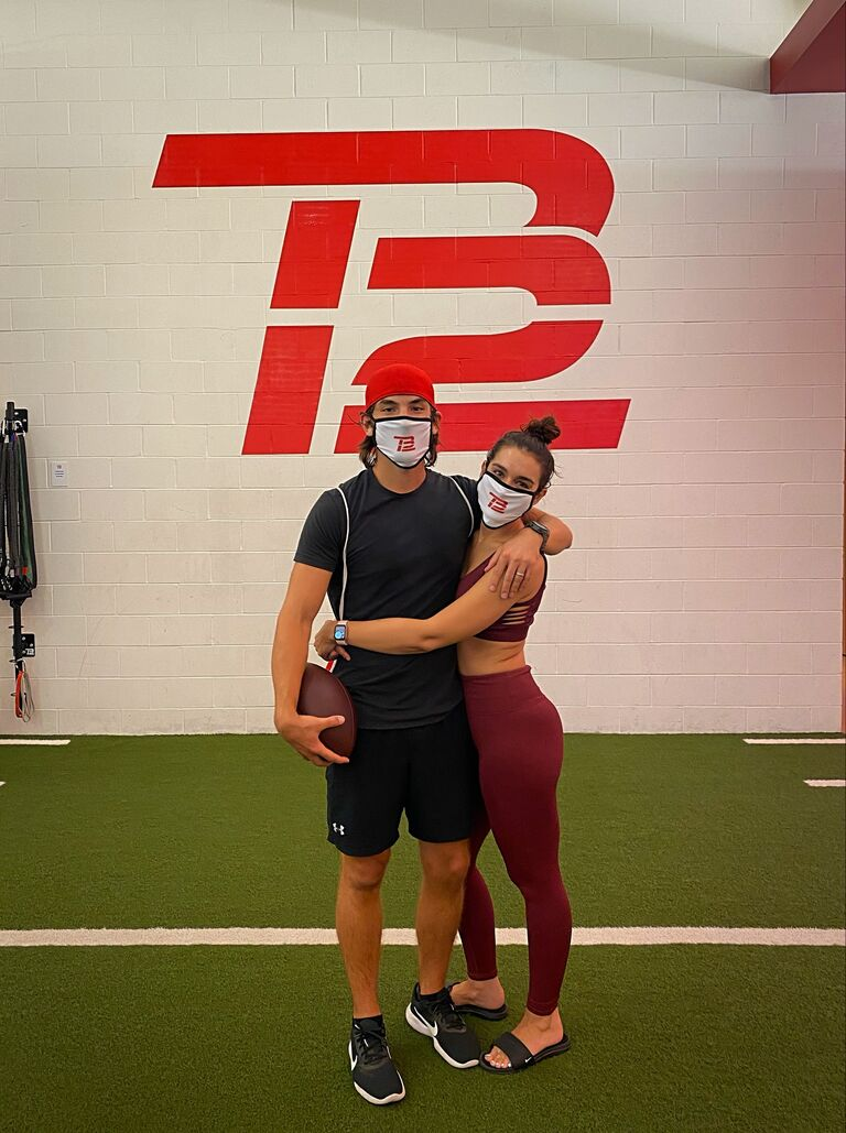 ashley i and jared working out