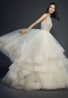 Lazaro 3708 Ball Gown Wedding Dress