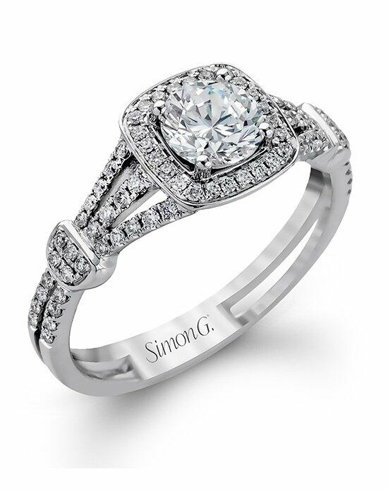 Simon G. Jewelry TR418-D Engagement Ring photo