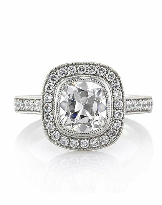Mark Broumand 2.43ct Antique Cushion Cut Diamond Engagement Ring Engagement Ring photo