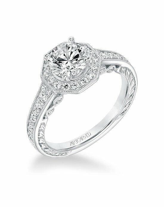ArtCarved 31-V687ERW-E Engagement Ring photo