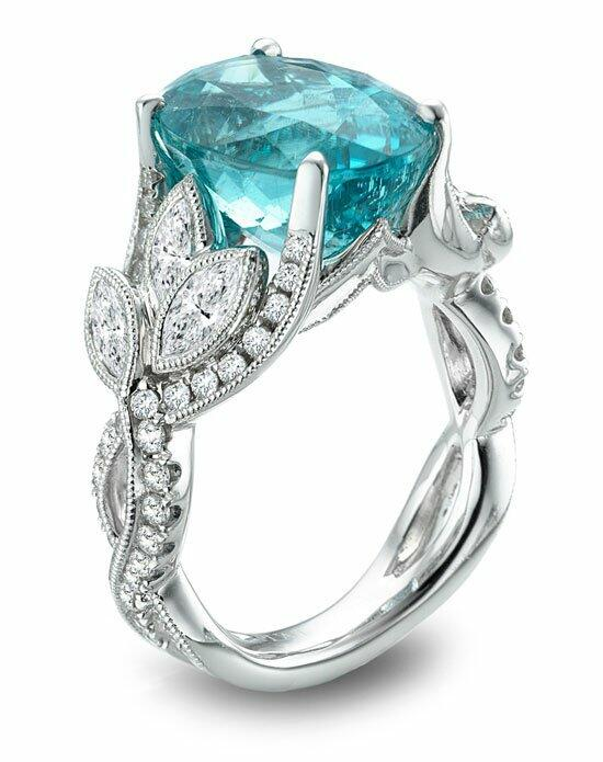 Parade Design Style R3327 from the Parade in Color Collection Engagement Ring photo