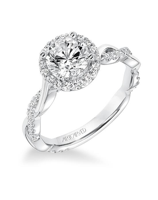 ArtCarved 31-V657ERW-E.00 Engagement Ring photo