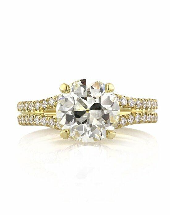 Mark Broumand 2.62ct Antique European Round Cut Diamond Engagement Ring Engagement Ring photo