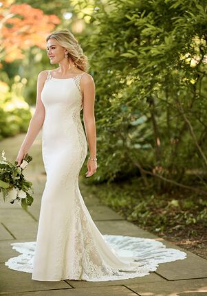 Essense of Australia D2993 Sheath Wedding Dress