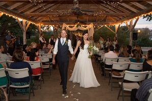Simple A-Line Wedding Dress