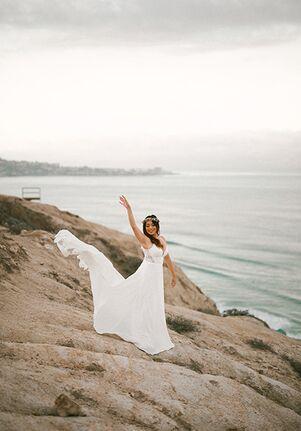 Essense of Australia D3370 Sheath Wedding Dress