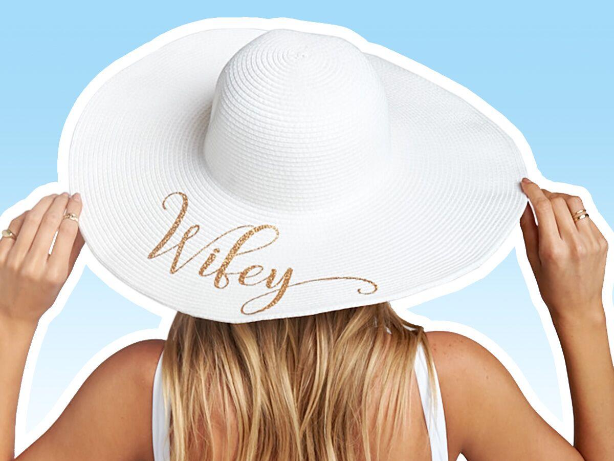 Seas /& Greetings Honeymoon Hat