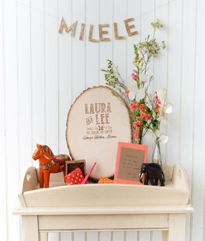 Wood Guestbook Plaque