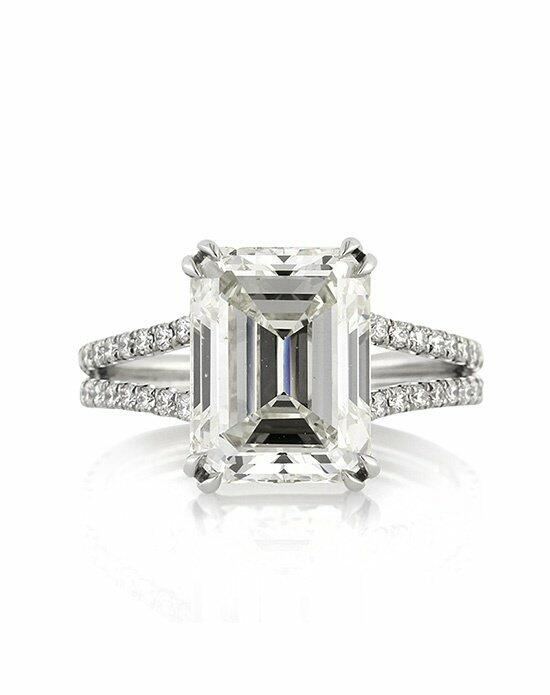Mark Broumand 5.37ct Emerald Cut Diamond Engagement Ring Engagement Ring photo